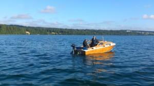 10 båtar till start i finvädret vi bjöds på denna gång.